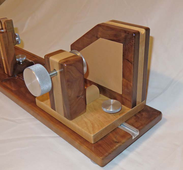 Custom Made Wooden Gun Vise