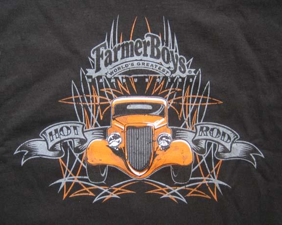 FarmerBoys Tshirt - Car show t shirts for sale
